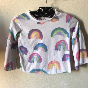 Chaser Shirts & Tops - Chaser Girl's Rainbow Tee 🌈